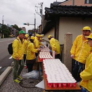 金沢マラソンのボランティア行ってきました!